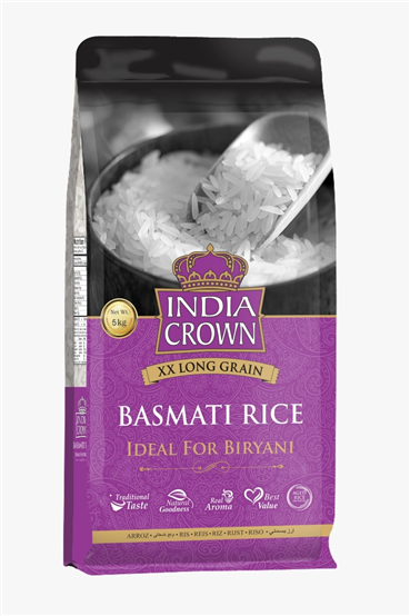 A New Packaging Basmati Rice